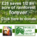 Save rainforest with World Land Trust